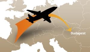 Le vol Paris-Budapest dure seulement 2 heures.