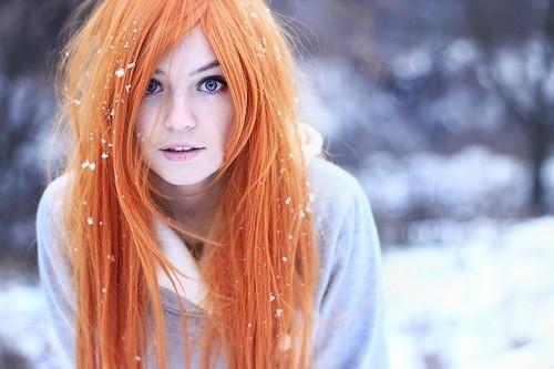 Les cheveux doit etre nourris en hiver.