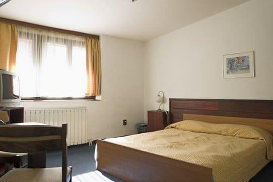 Une chambre de l'Hotel Gloria.