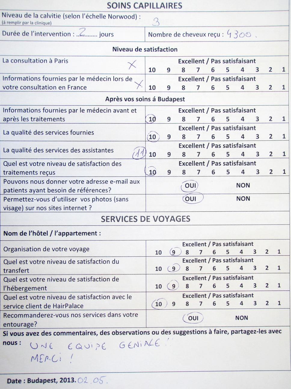Clinique pour soins tres speciaux 1980 - 1 4