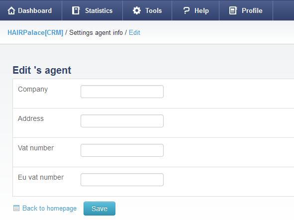 agent profile