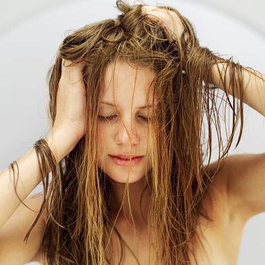 Perte de cheveux chez la femme.