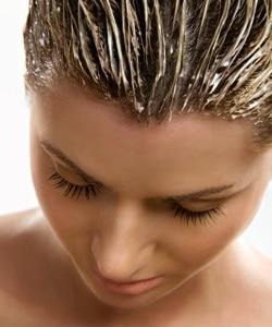 Soins pour la santé des cheveux.