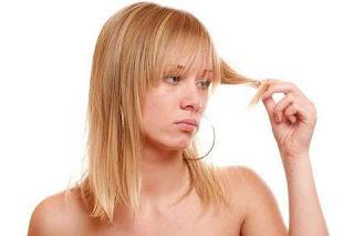 Problemes de chute de cheveux des femmes.